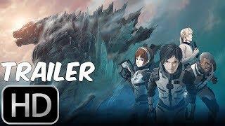 GODZILLA MONSTER PLANET Final Trailer 2018 Netflix Anime Movie HD