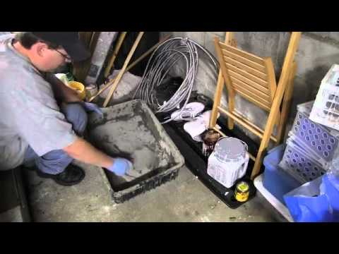 How to Patch a Cinder Block Foundation With Quikrete