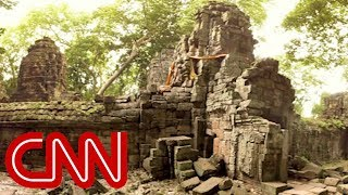 Download Song Mysterious temple reemerges in Cambodia - 360 Video Free StafaMp3