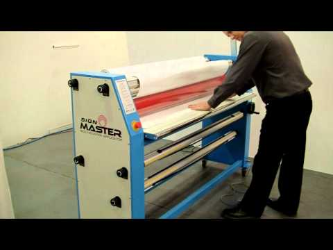 Wide Format Cold Laminator Signmaster 1600 from Lamination System