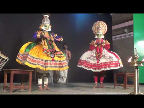 Santhanagopalam Kathakali Part 1 video