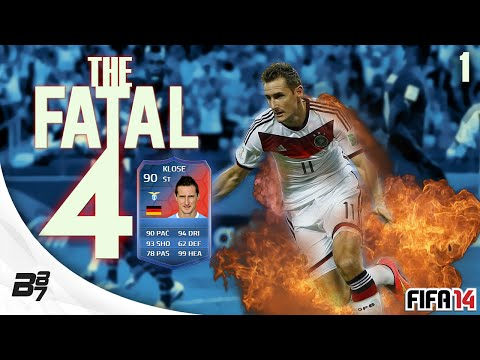 THE FATAL 4!! w/ 90 KLOSE 1 GO BIG! | FIFA 14 Ultimate Team