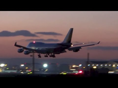 One Day at the Airport - Plane Spotting Compilation Frankfurt Airport