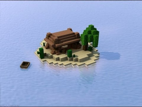 видео майнкрафт выживание на мини острове