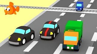 Cartoon Cars - POLICE CAR CHASE 2 - Cartoons for Children - Videos for kids