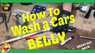 How to REMOVE Salt, Chloride, Mud, Dust, Dirt From UNDER YOUR CAR/Undercarriage Cleaner
