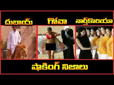 దుబాయ్ , నార్త్ కొరియా , గోవా గురించిన షాకింగ్ నిజాలు | Interesting Facts In Telugu |Star Telugu YVC