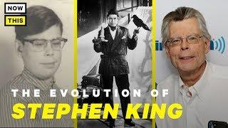 The Evolution of Stephen King | NowThis Nerd