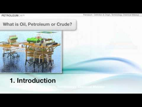 Introduction to the Offshore Oil & Gas Industry