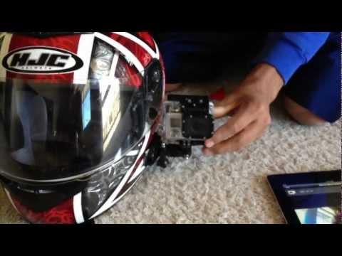 GoPro Side Mount on Motorcycle Helmet - GoPro Tip #113