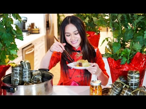 How To Make Banh Tet - Traditional Vietnamese Lunar New Year Food