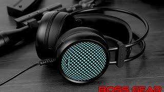 Trên tay tai nghe G310 màu đen huyền bí Led 7 màu//Review Headphone G310 black metal Rainbow LED