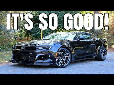 2018 Chevrolet Camaro ZL1 Review (The ALMOST PERFECT Car)