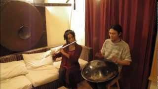 flute & handpan. sound of Okinawa. G major