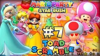 ABM:Mario Party Toad Scramble Walkthrough # 7 World 3-1 HD
