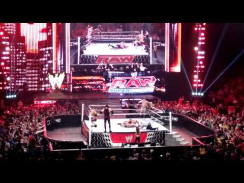 Post-RAW 4/2/12 Dark Match - Orton/Show/Sheamus vs. Kane/Rhodes/Bryan