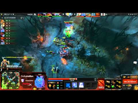 Empire vs Power Rangers Game 1 - Dota 2 Champions League - Capitalist & Sneyking