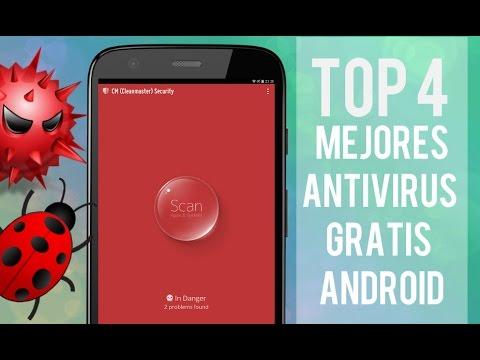 (TOP 4) Mejores Antivirus Gratis para Android | Protégete de los intrusos 2015