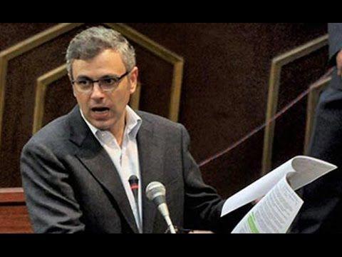Omar Abdullah Attacks Mehbooba Mufti Government - Land For Sainik Colony