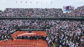 2018 Roland Garros - Nadal victory speech!
