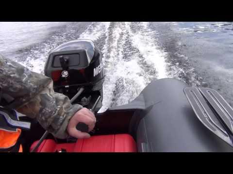 сборка-разборка лодки касатка