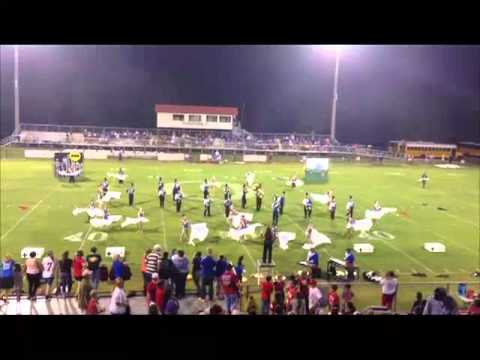 White Plains Blue Brigade at Ohatchee High School