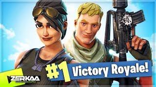 THE START OF MANY WINS! (Fortnite: Battle Royale)