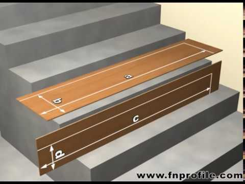 fn lock on stair treppenabschlussprofile youtube. Black Bedroom Furniture Sets. Home Design Ideas
