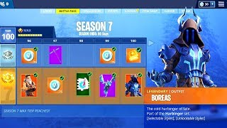 Fortnite Season 7 Full Battle Pass Season 7 Skins Fortnite Season