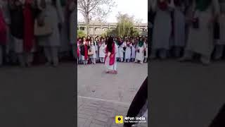 College Dance - Beautiful Girl Amazing Dance Front Of All Students