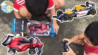 Trò Chơi Đua Xe MôTô F1 ♥♥ Siêu Quậy ToysReview TV♥♥ Đồ Chơi Cho Bé