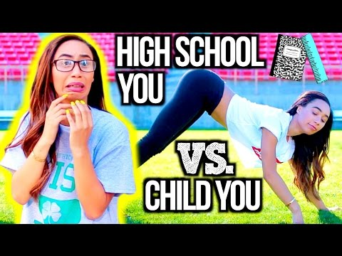 High School You Vs. Child You! thumbnail