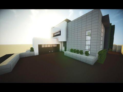 Minecraft Tutorial: Pequena Casa Moderna Completa [Download]