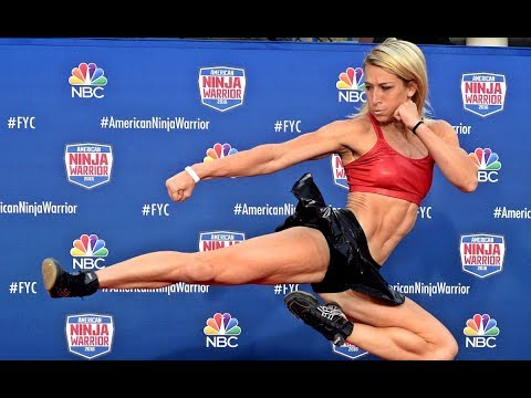 Spider Woman in real life With American Ninja Warrior star - Jessie Graff