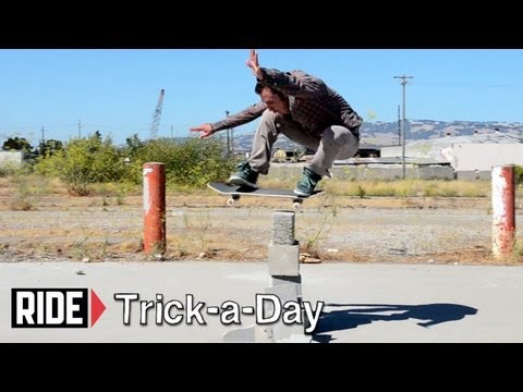 How-To Skateboarding: Ollie with Tony Manfre
