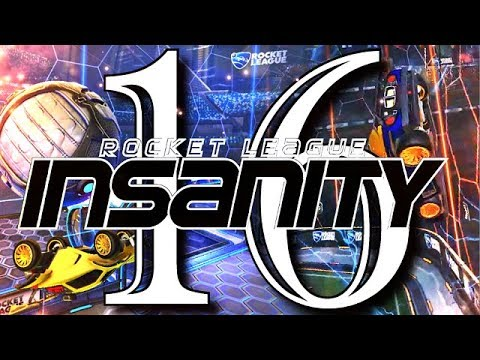 ROCKET LEAGUE INSANITY 16 ! (BEST GOALS, AIR DRIBBLES, FREESTYLES, CEILING SHOTS, FLIP RESETS)
