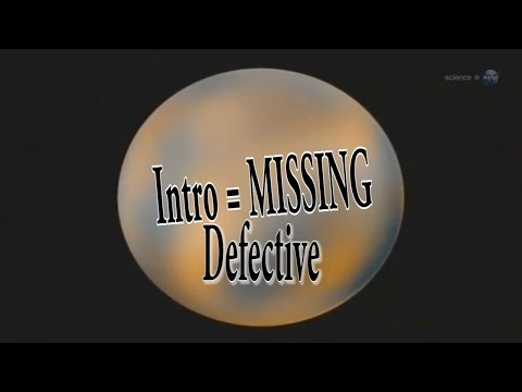 This is the defective Pluto video - missing intro