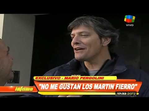 Pergolini: Nadie se acuerda de quién ganó los Martín Fierro
