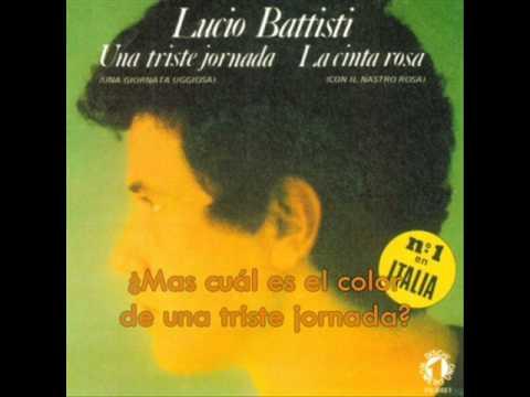 Lucio Battisti - Una Triste Jornada