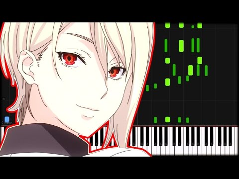 Shokugeki No Soma OP 1 - Kibou No Uta (Synthesia)
