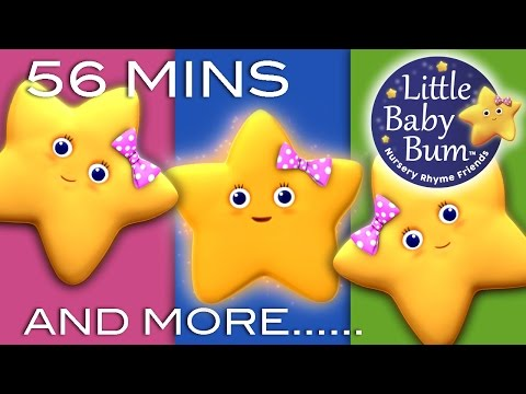 Twinkle Twinkle Little Star | Plus Lots More Children's Rhymes | 56 Minutes Compilation!