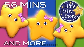 Twinkle Twinkle Little Star | Plus Lots More Nursery Rhymes | 56 Minutes Compilation!