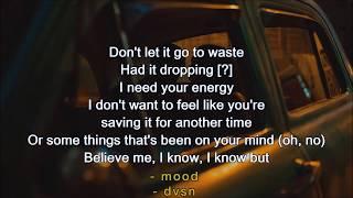 Dvsn   Mood (LYRICS) NEW! 2017