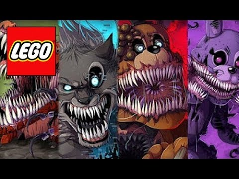 How To Build: LEGO All Animatronics FNAF || The Twisted Ones - Compilation!