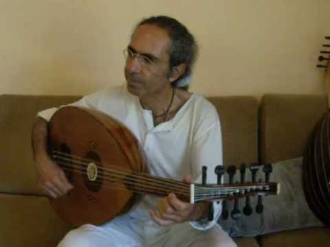 Yair Dalal is playing his Nahhat Oud (repaired by Yaron Naor)