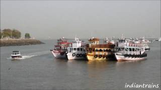travel india@colorful boats at gateway of india / part 2, bombay, mumbai, maharashtra, india