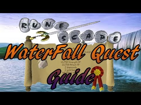 Runescape 2007 Waterfall Quest Guide for Level 3′s – General Seal – Old Scape