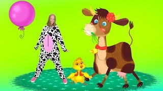 Cow Finger Family Song –The Best Educational Nursery Rhymes For Kids