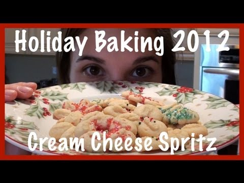 Holiday Baking 2012: Cream Cheese Spritz