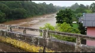 Situação do Rio Pardinho em Santa Cruz